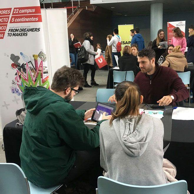 Feria de orientación para alumnos de bachillerato en Málaga